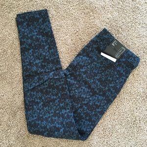 H&M leopard pants